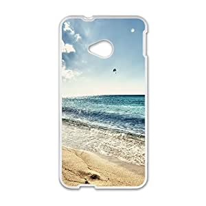 Happy Scenery Phone Case for HTC One M7 case