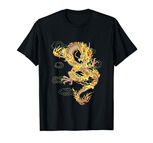 Chinese Dragon Symbol of Power and Strength & T Shirt Design