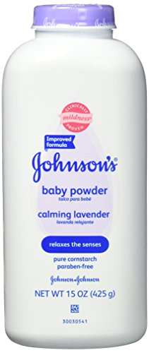 Johnson's Baby Powder Calming Lavender For Irritated Skin, 15 Oz., Pack of 6