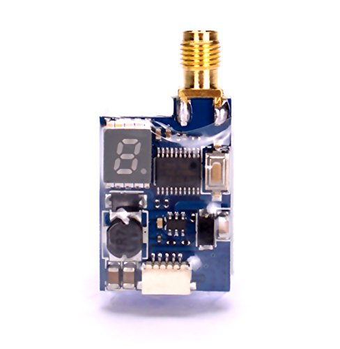 5.8 Ghz Video (TS5823L 48CH 5.8Ghz FPV Video Transmitter 25mW/200mW Switchable VTX Module for RC Quadcopter Drone)