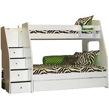 Amazon Com Berg Furniture Enterprise Twin Over Full Bunk Bed