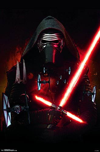 Trends International Star Wars: the Force Awakens-Kylo Ren Premium Wall Poster, 22.375
