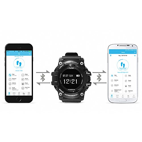 T1 Smart Watch Waterproof IP68 Heart Rate Monitor Bluetooth 4.0 Outdoor Sport Clock For IOS Android Phone Smartwatch