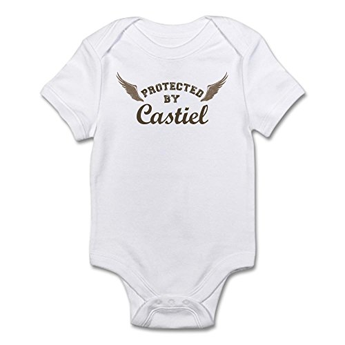 CafePress SUPERNATURAL Protected Castiel Bodysuit