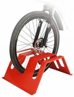 amarillo /Aparcabicicletas/ /Park Station moderna para bicicletas y Roller bikerast/