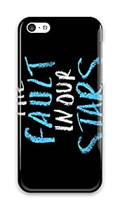 MEIMEI Online Designs fault in our stars on a black background PC Hard new ipod touch 5 case for men coolLINMM58281