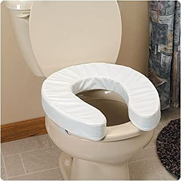 Amazon.com: Sammons Preston Padded Toilet Seat Cushions with Cut-Out ...