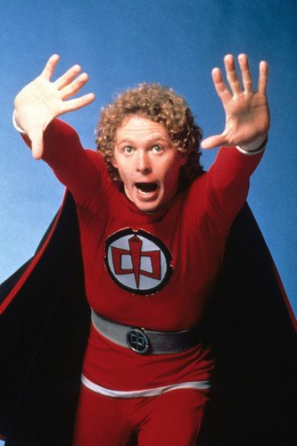 William Katt in The Greatest American Hero in superhero costume