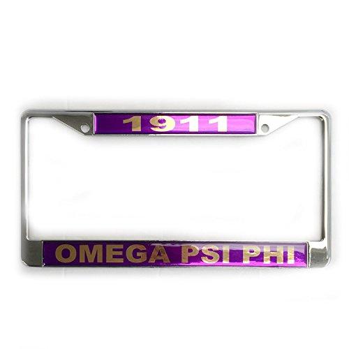 Omega Psi Phi License Plate - 7