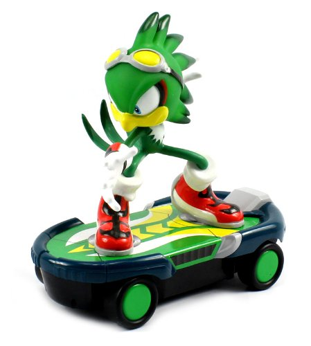 Sonic Free Riders Jet the Hawk Skateboard Electric RC Car RTR