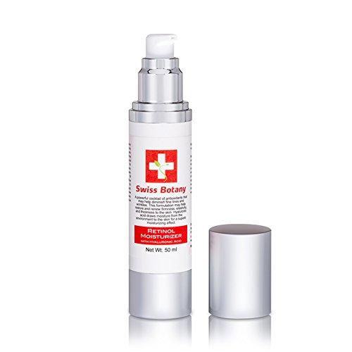 Swiss Botany Retinol Cream Treats blemishes, Age spots & Acne Spots. Dermatologists Swear by Retinol