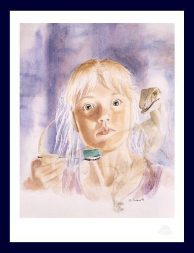 Autographed Limited Edition Lithograph - Jurassic Park - Raptor Vision - by Ariana Richards