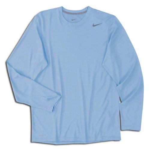 Nike Men's Legend Long Sleeve Poly Top Medium Sky Blue