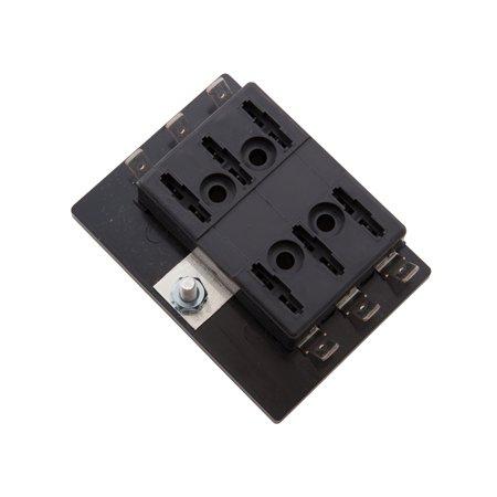 ATC/ATO Blade-type Fuse Panel, 6 position (1 Per Quantity) -