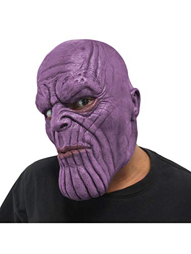 Rubie's Adult Marvel Avengers: Infinity War Thanos 3/4 Vinyl Mask -