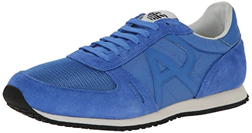 Armani Jeans Mens Runner AM524261P Fashion Sneaker Blue sypPX1