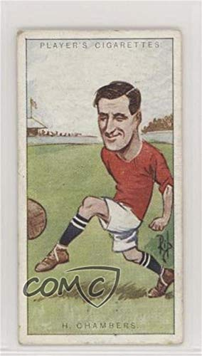 Chamber Players (Harry Chambers Ungraded COMC Good to VG-EX (Trading Card) 1926 John Player & Sons Footballers, Caricatures by