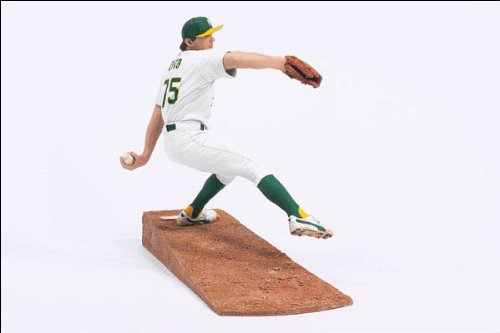 Die Cast Collectible Mlb Baseball - 2003 Barry Zito McFarlane Figure Series 7 Oakland Athletics