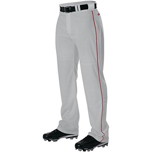 AllesonメンズワープニットBraided野球パンツ B00I7TCIJ2 Medium|グレー/スカーレット グレー/スカーレット Medium