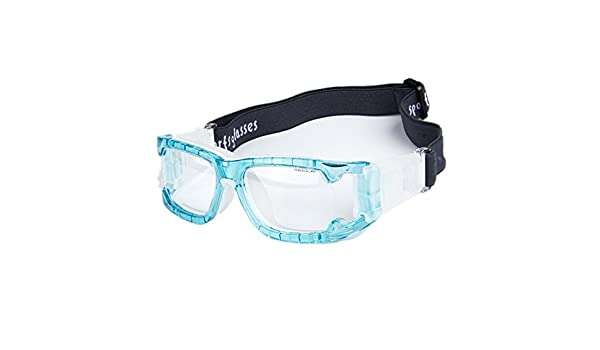 4cdde3dd9a7d Wonzone Unisex Kids Sport Glasses Anti-Fog Protective Safety Goggles w Adjustable  Strap for Basketball Football Hockey Rugby Baseball Soccer Volleyball and  ...