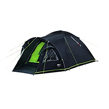 Image of Camping Shelters High Peak Talos 3 Tent – Dark Grey/Green, L