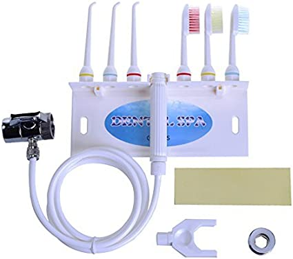 Denshine Oral Irrigador Goma Dental Dientes de Flosser de Jet de Agua SPA Kits de cuidado dental Uso De Hilo Dental Cepillo De Dientes Irrigador oral portátil Fácil de ajustar la presión