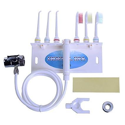 Denshine Oral Irrigador Goma Dental Dientes de Flosser de Jet de Agua SPA Kits de cuidado