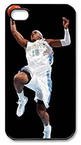 NBA New York Knicks #7 Carmelo Anthony Computer shutdown icon power off Customizable iphone 4/4s Case by icasepersonalized