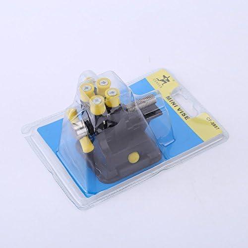 DeWin Vice Mini Vise Hobby Table Artisanat Bijoux Clamp Vice Outil de R/éparation avec Bas de 50mm Ouverture de la m/âchoire daspiration