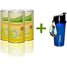 Almased Synergy Diet 17.6 oz (500g) 3-Pack Plus FREE POWER SHAKER