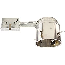 "Elco Lighting EL55RICA 5"" Airtight IC Shallow Remodel Housing"