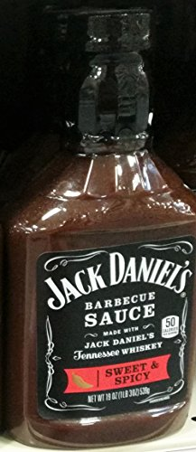 Jack Daniel's Sweet & Spicy Barbecue Sauce 19 oz (Pack of 3) ()