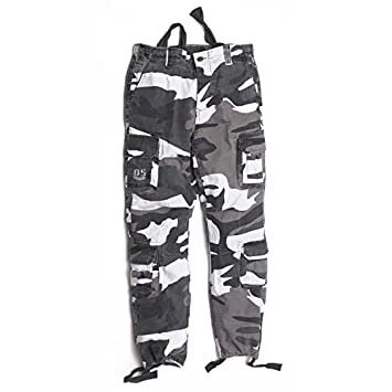 Fratelliditalia Pantalone Calzoni Bimbo Bambino Tasche Cotone Moda Baby Sportivi Militari Camo