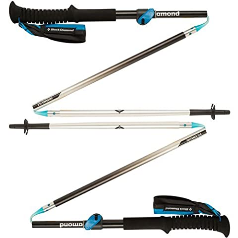 Black Diamond Distance FLZ Poles - Black Diamond Cones