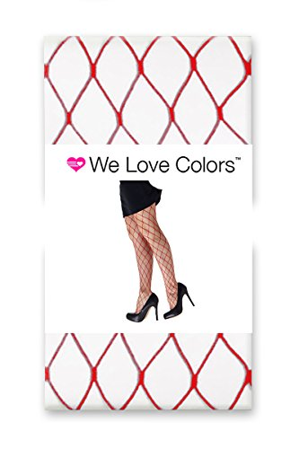 Diamondnet Fishnets - 30 different Colors in Fence net style pantyhose! (Color Fishnet)