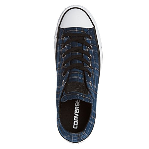 Converse Chuck 549655C CT AS Plaid nocturna marino Negro Azul Blanco Nightime Navy Black White