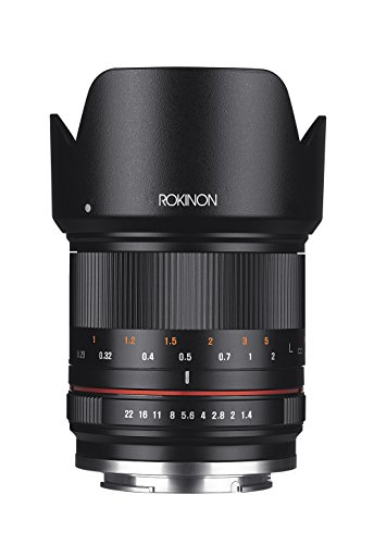 Rokinon RK21M-E 21mm F1.4 ED AS UMC High Speed Wide Angle Lens for Sony