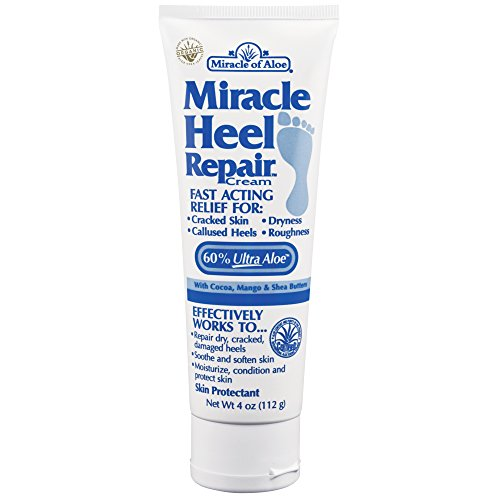 Miracle Heel Repair Cream 4 ounce tube with 60% UltraAloe