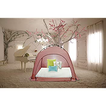 Amazon Com Feelinglove Indoor Privacy Play Tent On Bed