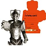 "Dr Who Party Invitations, Pack of 6"" Design May Differ"