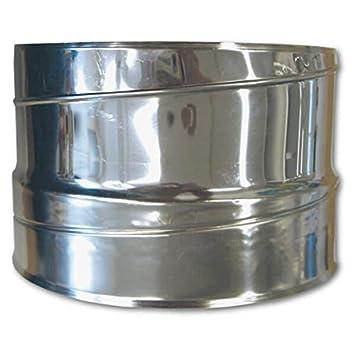 Adaptador para tubo de escape flexible de acero inoxidable de 80 a 300 mm de diámetro, ...