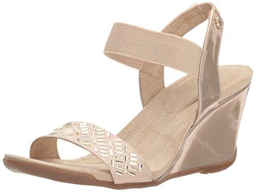 On Fabric Slip Anne Pump Light Sandal Loveme Natural Gold Women's Klein qxvwA1I