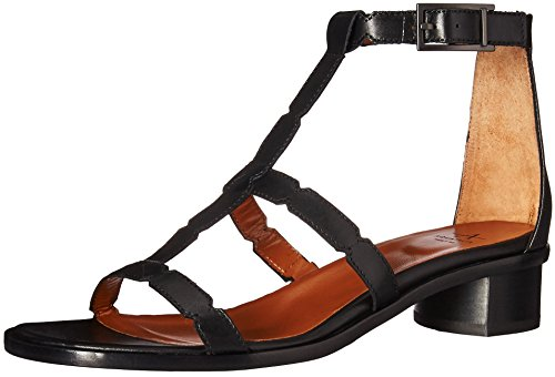 Black Women's Risa Calf Sandal Aquatalia HI6Sg6