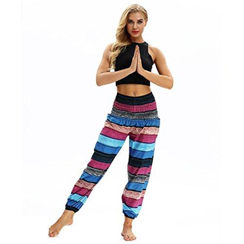 Malo Women Skirts - Rucan Men Women Casual Loose Hippy Yoga Trousers Baggy Boho Aladdin Harem Pants (C, Free Size)