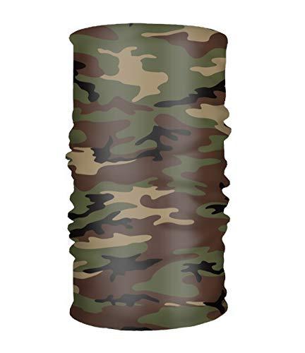 Headbands Woodland Camo - Women' Soft Stretch Headband Woodland Army Camouflage Head Wrap Turban Scarf