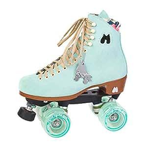 Moxi patines Lolly patines, mujer, Azul verdoso