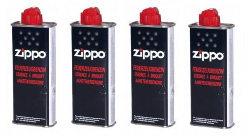 4 pieza Zippo Original Mechero Gasolina 125 ml product image