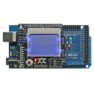 SainSmart C25 kit with MEGA ATmega2560 + Graphic LCD4884 Shield for Arduino UNO R3 MEGA Mega2560 Nano DUE Duemilanove AVR ATMEL Robot XBee ZigBee
