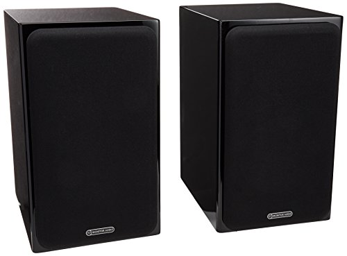 - Monitor Audio - Silver Series 1 - 2-way Compact Loudspeakers - Pair - Gloss Black