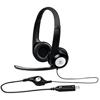 Logitech ClearChat Comfort USB Headset Wired Connectivity - Over-the-head 981-000014